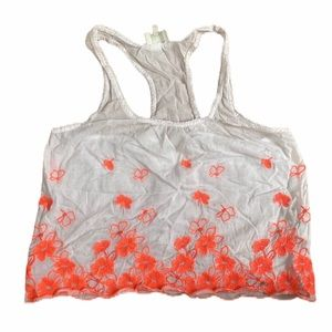 Holly Hicks Embroidered Tank Top